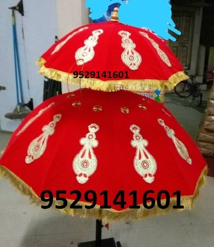 Wedding Velvet Umbrella - Double