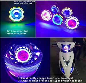 Colorful LED Motorcycle Lamp