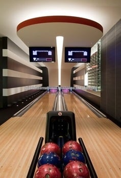Exclusive Bowling Alley Game
