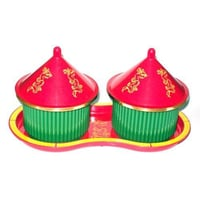 2 Set Chinese Sauce Container