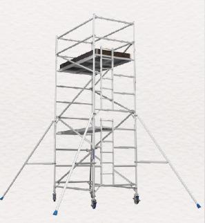 Aluminium Mobile Wide Scaffolding