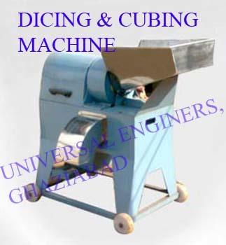 Dicing And Cubing Machine Or Papaya Tutty Fruity Making Machine