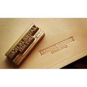 Exclusive Leather Embossing Stamps