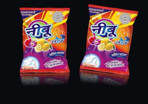 Printed Plastic Detergent Pouch in  Nai Sarak