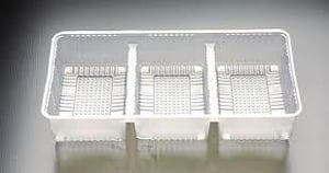 3 Partition Biscuit Tray