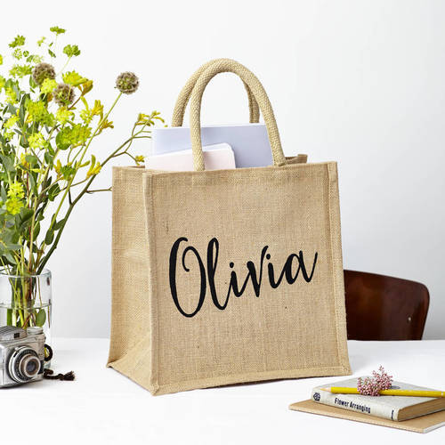 Customize Jute Gift Bag
