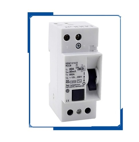 5sm1 2p 25a 30ma Rcbo Circuit Breaker