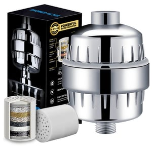 8-15 Stages Fully Chrome Shower Filter