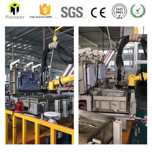 Automatic Continuous Mattress Polyurethane PU Foaming Machine in   Jiangyin