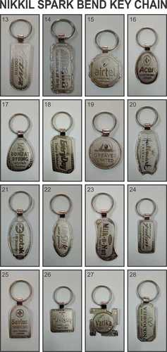 Attractive Nickel Plated Keychain