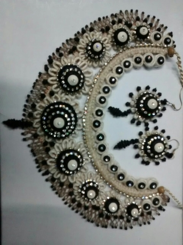 Designer Jute Heavy Necklace