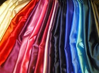 Reliable Embroidered Satins Fabric
