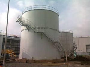 Robust Floating Roof Tank
