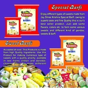 Best Quality Special Sweet Barfi