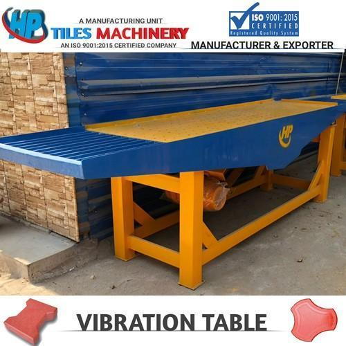 Paver Tiles Vibtration Table in  51-Sector