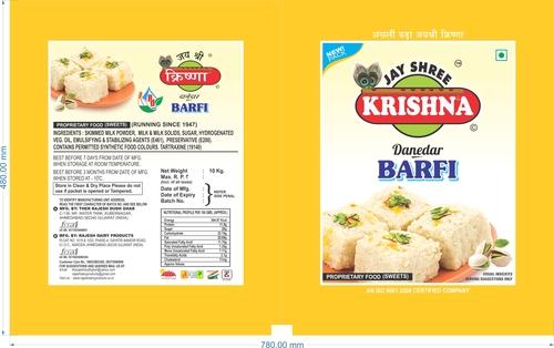 Pure And Fresh Danedar Barfi
