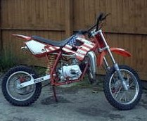 Highly Efficient Lc 90 Dirt Bike