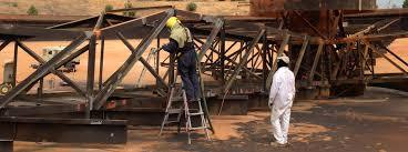 Industrial Painting Services On Iron