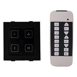 Modular 4 Light And 1 Fan Touch Switch