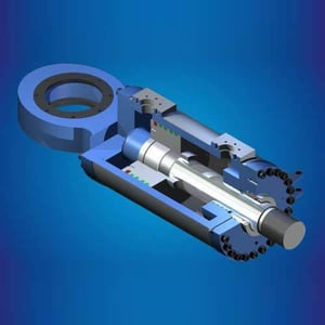 Vertical Rolling Mill Hydro Pneumatic Jack