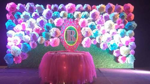 Handmade Giant Paper Flowers For Stage Decoration In Secunderabad