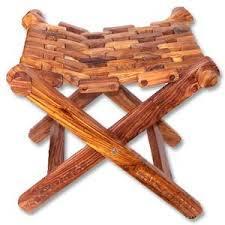 Industrial Wooden Handicraft Stool Triples Handicrafts Shop No 28