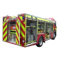 Emergency Rescue Tender Vehicle