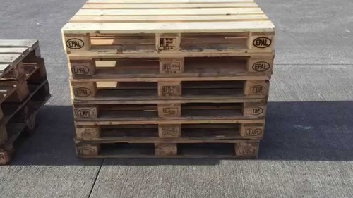 Euro Pallets/ Used Wooden Pallets