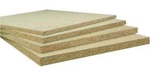 Laminated Plain Particle Boards