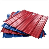 Colored Coated Steel Roofing Sheets