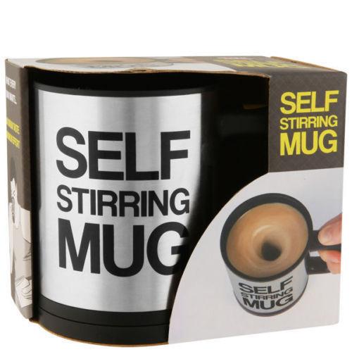 Stainless Steel Awesome Self Stirring Mug