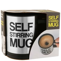 Stainless Steel Awesome Self Stirring Mug