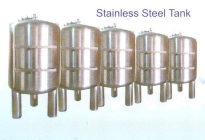 Stainless Steel Tank For Water Treatment System