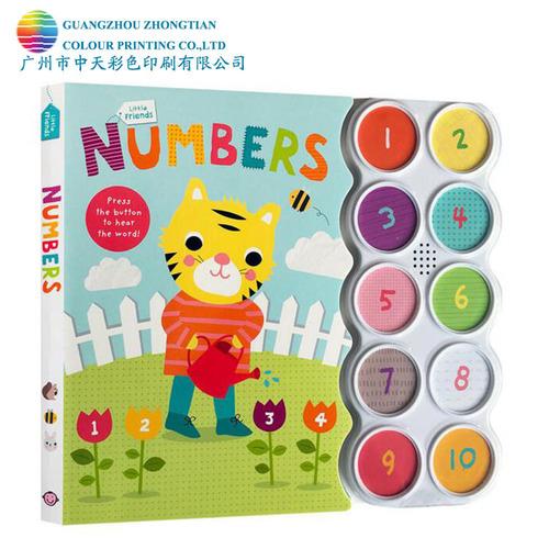 Art Paper Children Numbers Music Button Book