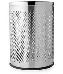 Stainless Steel Office Dustbin