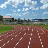Rubber Athletic Running Track