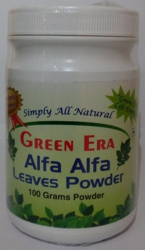 100 gms Organic Alfa Alfa leaves Powder in   Sanskar Mandal
