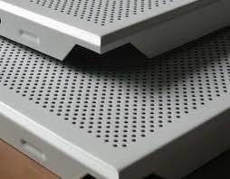 Aluminium Grid Perforated False Ceiling