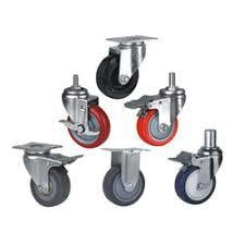 Ms Fabricated Caster Wheel