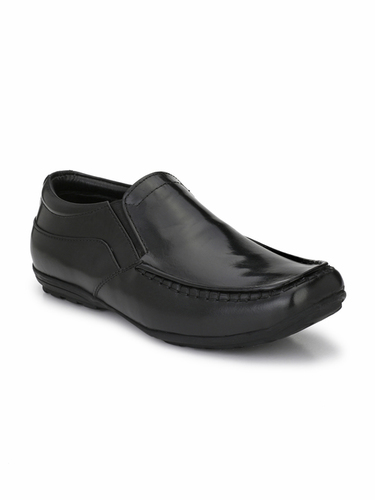Leather Formal Shoes Without Laces
