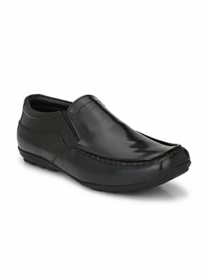 Men's Leather Formal Shoes Without Laces