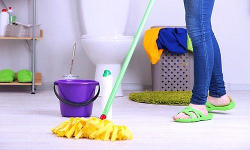 Bathroom Floor Cleaning Service