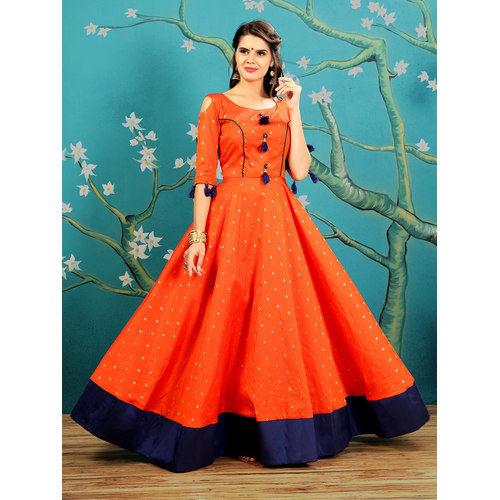 861bfc1e6c58 Designer Ladies Gown For Parties - GK Fashion