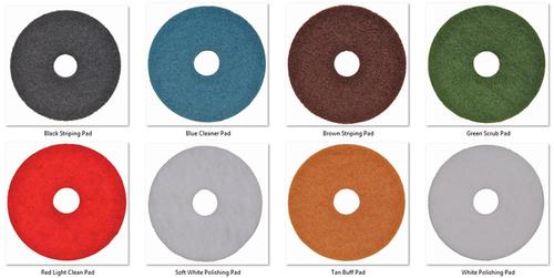 Multi Colors Floor Pad