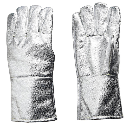 Aluminised Glove