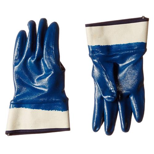 Nitrile Full Blue Coated Glove - Medium (Pack Of 2 Pair)