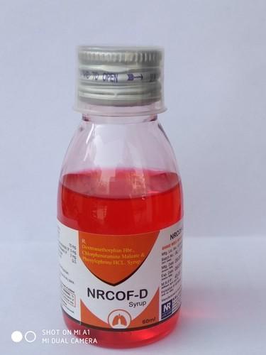 60ml NRCOF-D Cough Syrup