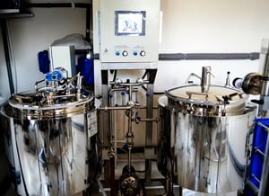 Brewery Machine With Capacity Of 100 Liters For One Brewage