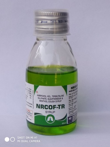 Cough Syrup With Ambroxol Hcl, Terbutaline Sulphate, Guaiphenasin & Menthol (Nrcof-Tr)