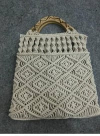 Handicraft Crochet Fancy Bag